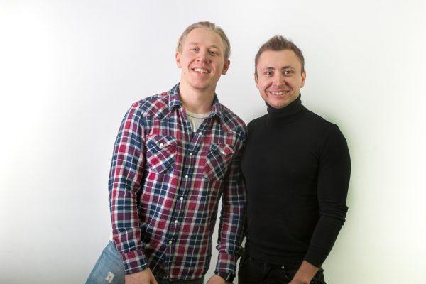 Дмитрий Белоус и Денис Охтин